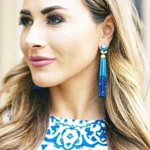 :: Stella & Dot Iris Tassel Earrings